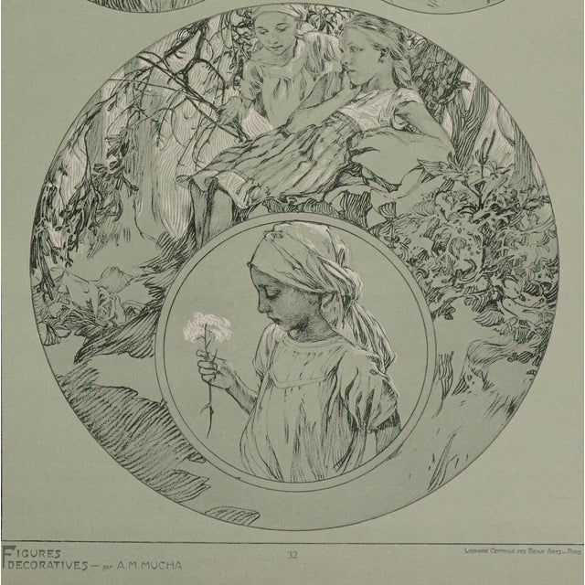 1900 - 1909 1900s Vintage Alphonse Mucha Poster For Sale - Image 5 of 7