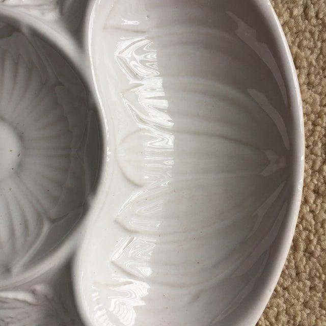 2010s 4 Majolica Artichoke Plates-Bentson West Designs For Sale - Image 5 of 10