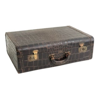 Royalshire Crocodile Suitcase For Sale