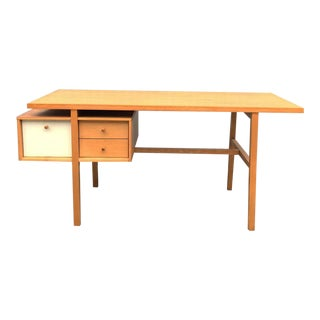 1950s Mid-Centur Modern Milo Baughman for Murray Cantilever Desk For Sale