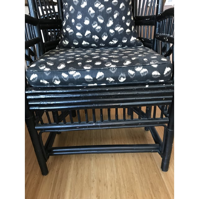 Chinese Chippendale Bamboo Chairs - A Pair - Image 8 of 11