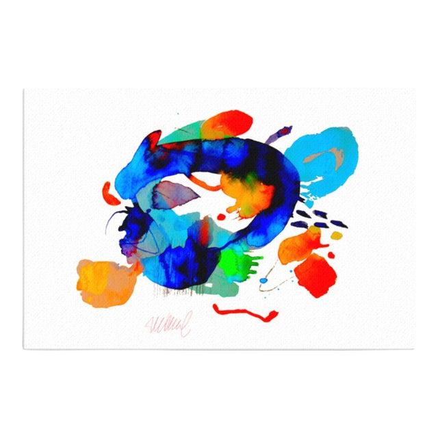 """Miami Splash"" Abstract Art Print - Image 1 of 4"