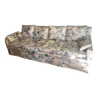 Chintz Floral Sofa For Sale