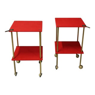 Luigi Caccia Dominioni Mod T9 Trolley for Azucena, 1950 For Sale