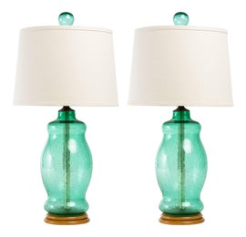 Image of Blenko Table Lamps
