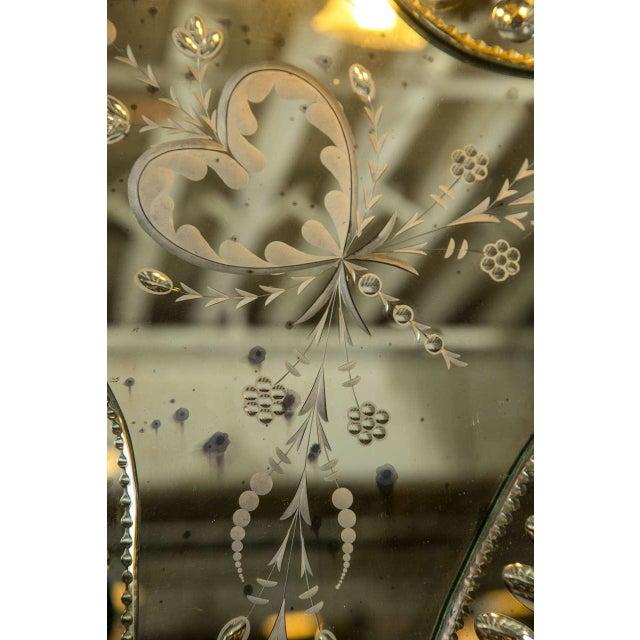 Monumental Venetian Mirrors - A Pair - Image 3 of 8