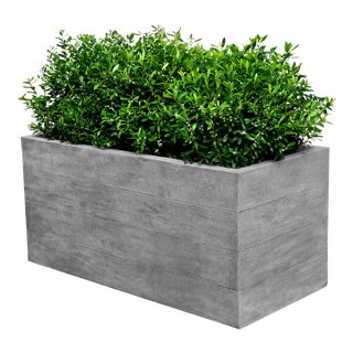 Sycamore Rectangular Planter For Sale