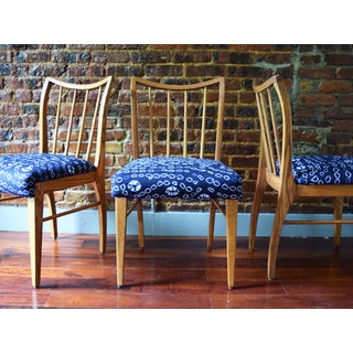 Mid-Century Modern Oak Dining Chairs - Set of 3 Preview