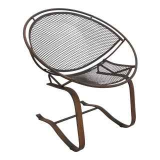 Mid Century Modern Salterini Hoop Radar Patio Chair For Sale