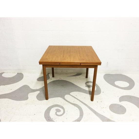 Mid-Century Modern Dining Table in Teak - Image 6 of 6