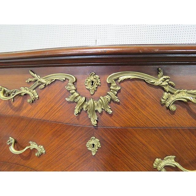 Regency Stye Bronze Mounted High Chest For Sale In Philadelphia - Image 6 of 10