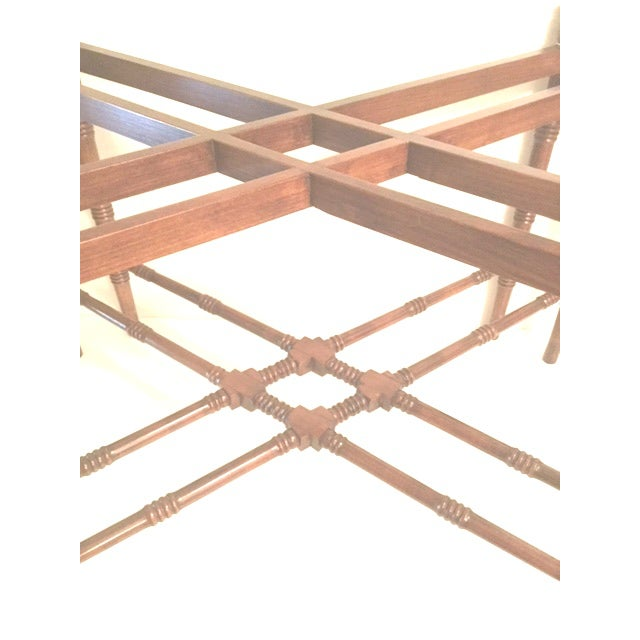 1960s Traditional Mahogany Tray Table Top Coffee Table For Sale In New York - Image 6 of 10
