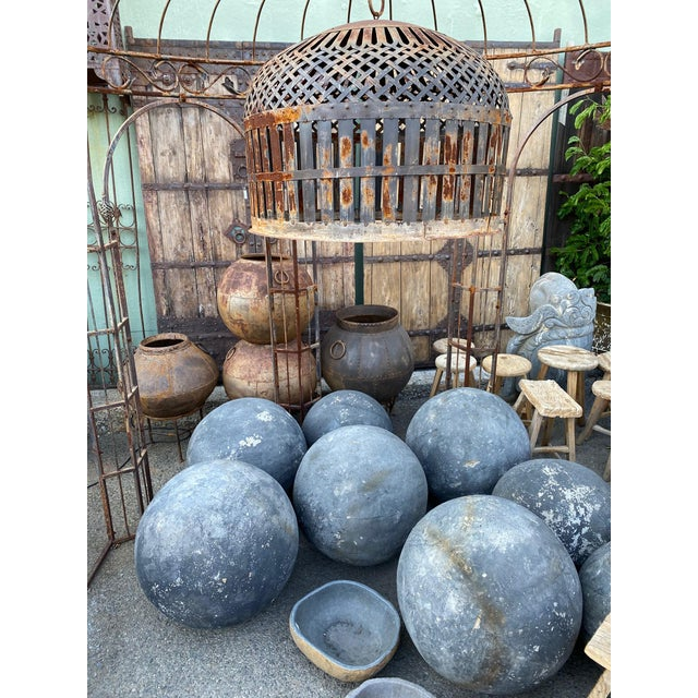 Stone Garden Sphere X-Large For Sale In Los Angeles - Image 6 of 7