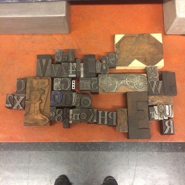 Print Letter Blocks - Set of 49 - Image 8 of 8
