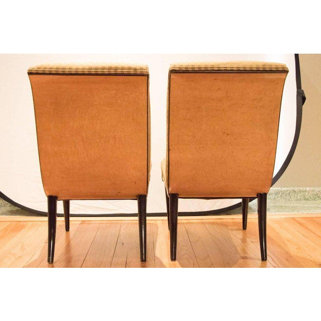 Viennese Biedermeier Style Art Deco Flare Slipper Chairs - a Pair - Image 10 of 10