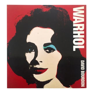 Andy Warhol Rare Vintage 1991 Large Oversized Volume Iconic Collector's Pop Art Book For Sale