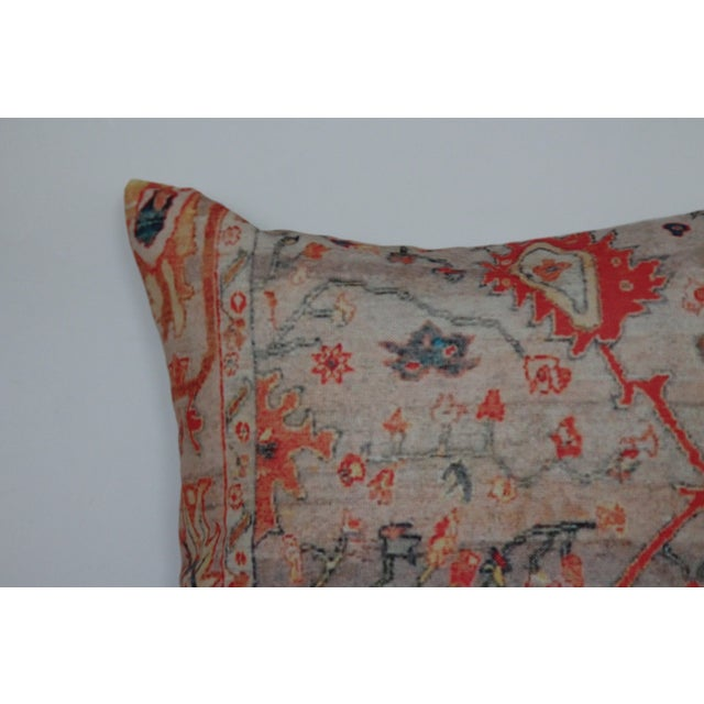 """Vintage Multi-Colored Oriental Rug Print 18"""" Pillow Covers – A Pair - Image 4 of 7"""