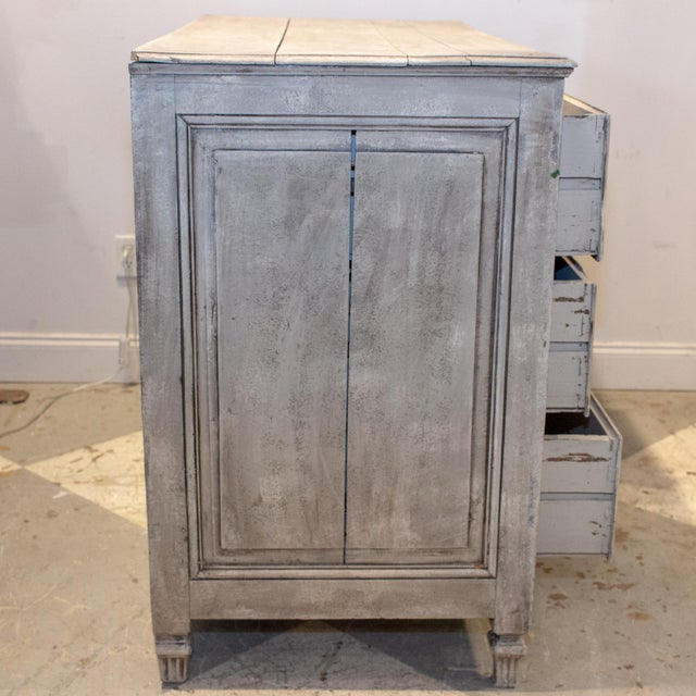 1900 - 1909 1900s Shabby Chic/French Louis XVI Commode For Sale - Image 5 of 13