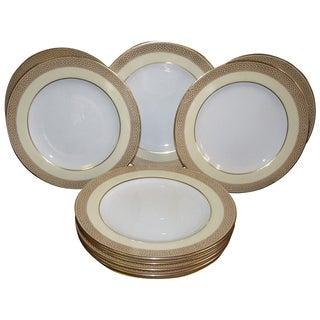 Antique Copeland Spode Plates - Set of 10 For Sale