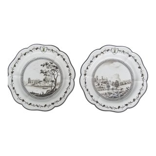 """1990s Wedgwood Collectable Dishes From """"Queensware Service - Set of 2 For Sale"""