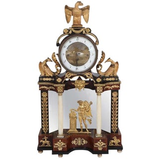19th C. English Classical Clock For Sale