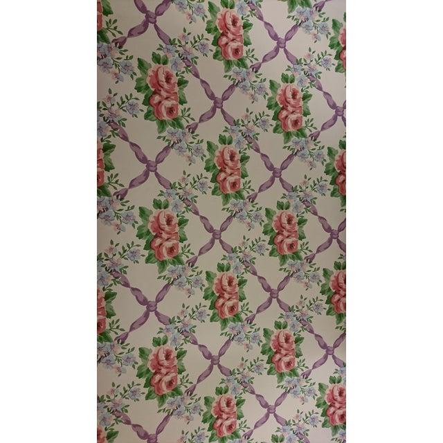 Waverly Cordelia Wallpaper - Set of 4 Rolls For Sale - Image 5 of 5