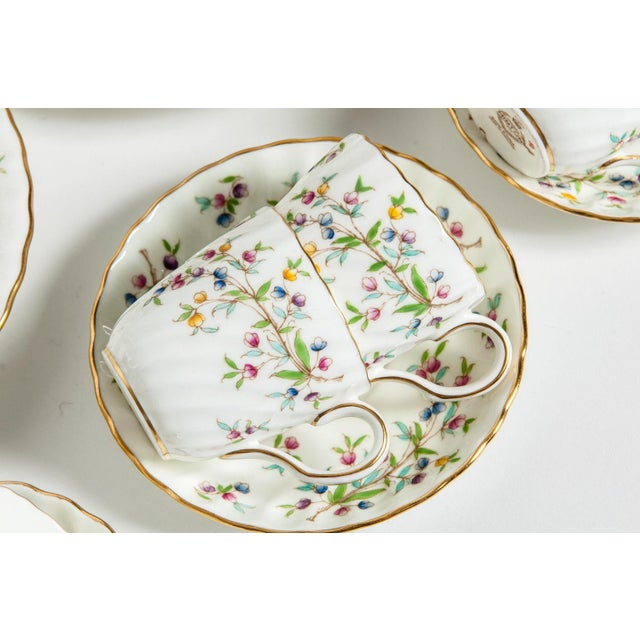 Minton English Full Service Dinnerware for 12 People - 84 Pc. Set For Sale In New York - Image 6 of 13