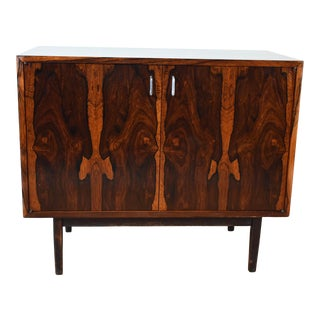 1950s Modern Rosewood Tv Console For Sale