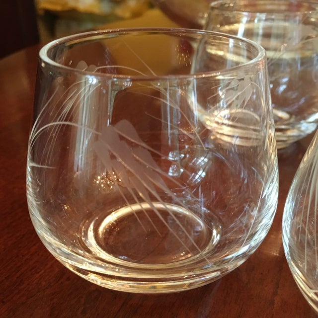 Ambassador to Italy's Crystal Punch Glasses & Bowl - Set of 73 For Sale - Image 9 of 12