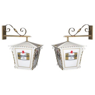 Pair of French Wall Lanterns For Sale