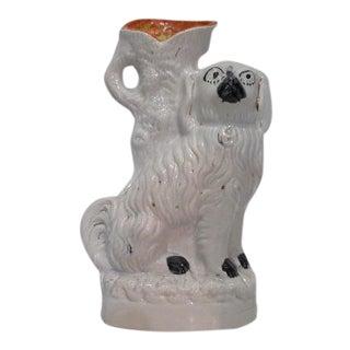 Staffordshire Dog Spill Vase For Sale