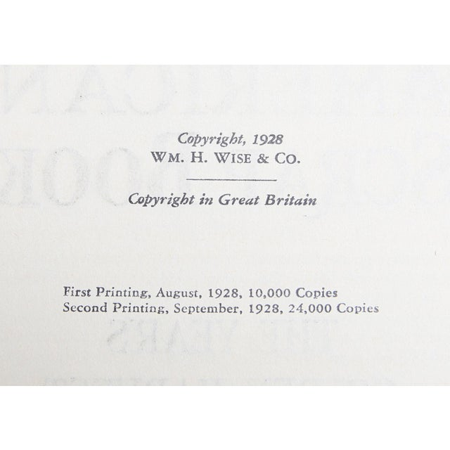 """Booth & Williams 1928 """"The American Scrap Book, 2 Vols"""" Coffee Table Book For Sale - Image 4 of 6"""