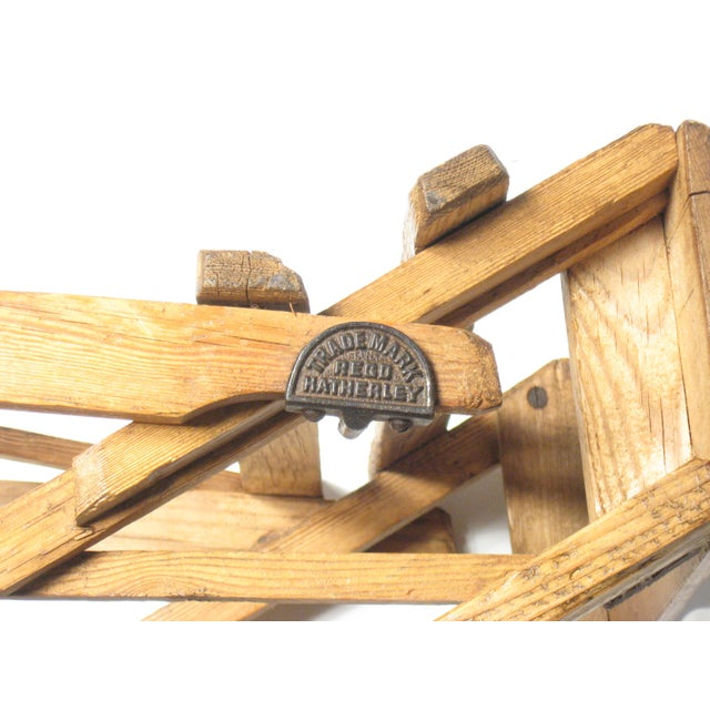 Wood 19th C. Hatherley Step Ladder For Sale - Image 7 of 8