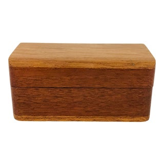 Small Wooden Box For Sale