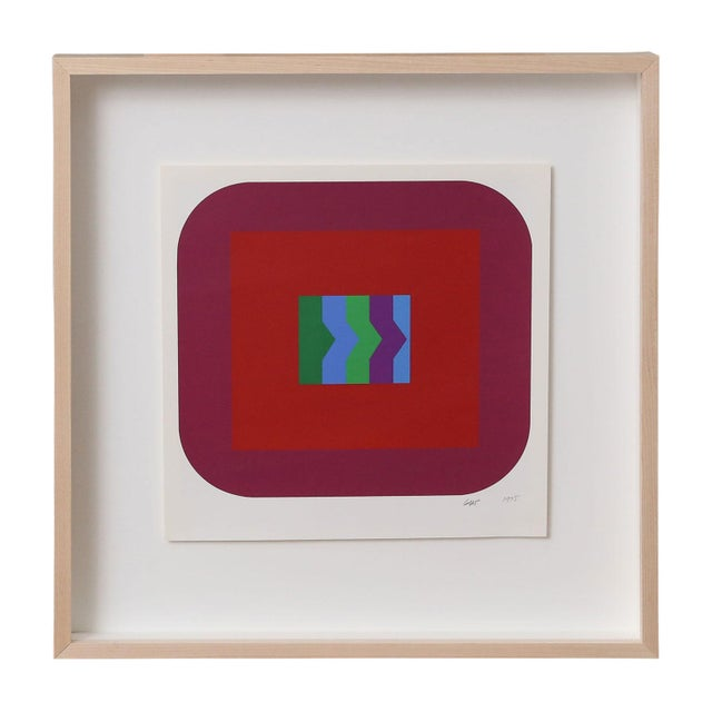 Nine Framed Pfahler Serigraphs For Sale In Houston - Image 6 of 13