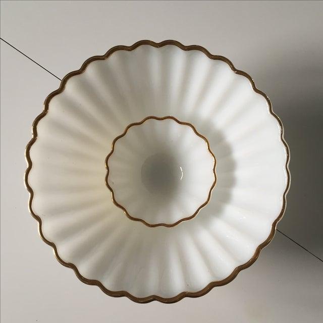 Classic Milk Glass Anchor Hocking Bowl Set - Pair - Image 3 of 10