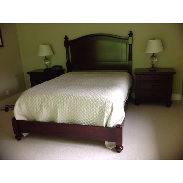 Restoration Hardware Camden Queen Bed - Image 2 of 6