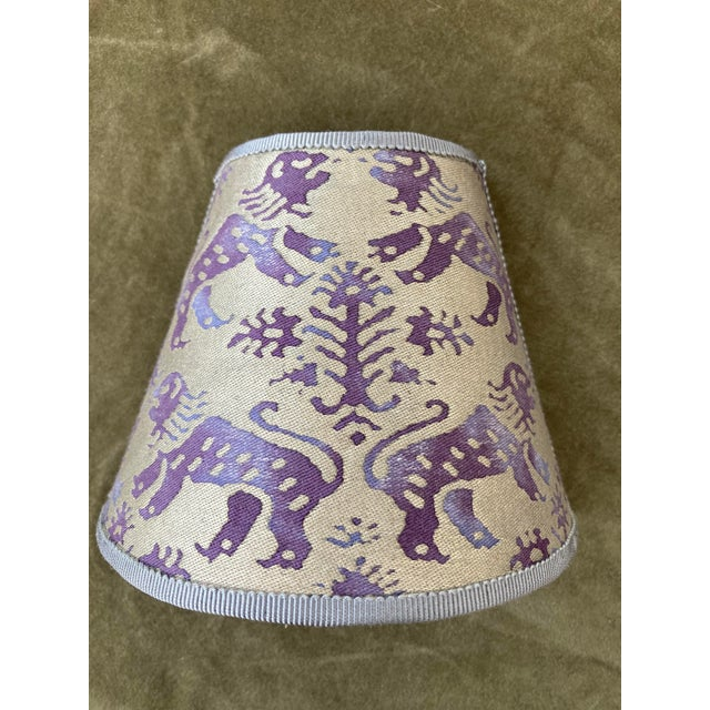2020s Contemporary Purple Fortuny Night Light For Sale - Image 5 of 5