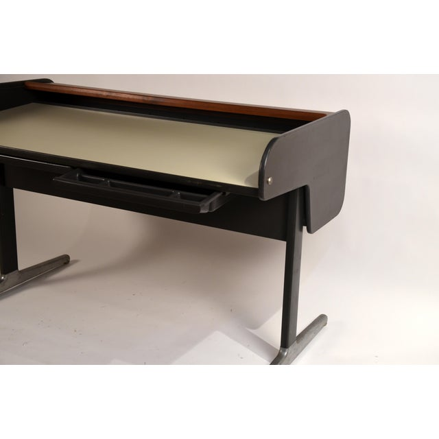'Action Office 1' Roll Top Desk by George Nelson for Herman Miller For Sale - Image 9 of 13