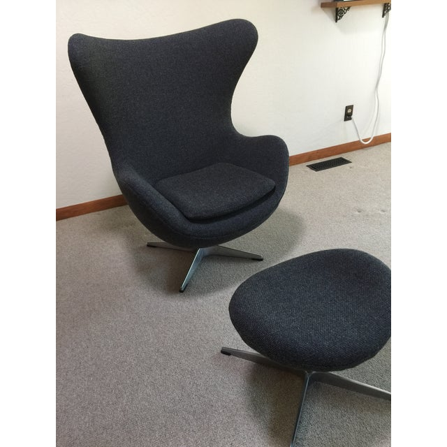 Mid-Century Modern Mid Century Modern Egg Chair - Designed by Arne Jacobsen in 1958 For Sale - Image 3 of 13