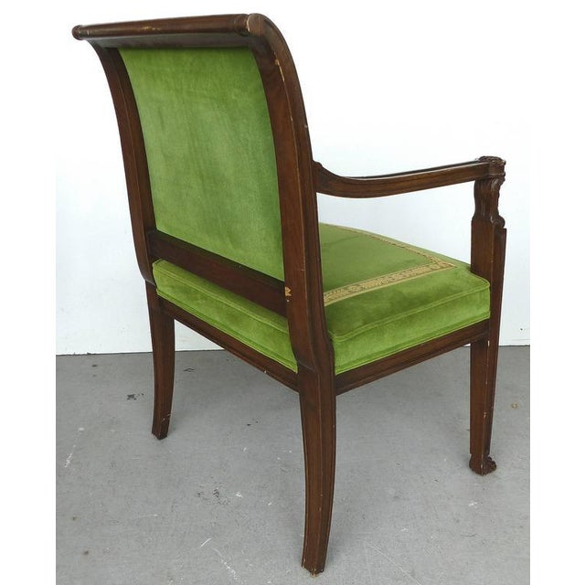 Early 20th Century 20th Century Renasaince Cocheo Bros, Fine Quality Chairs - A Pair For Sale - Image 5 of 11