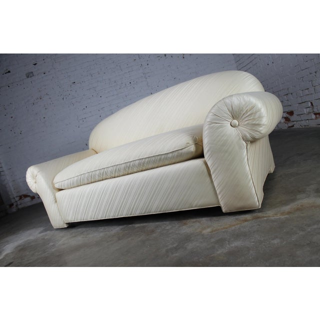 1976 Vintage White Donghia Sofa - Image 6 of 11
