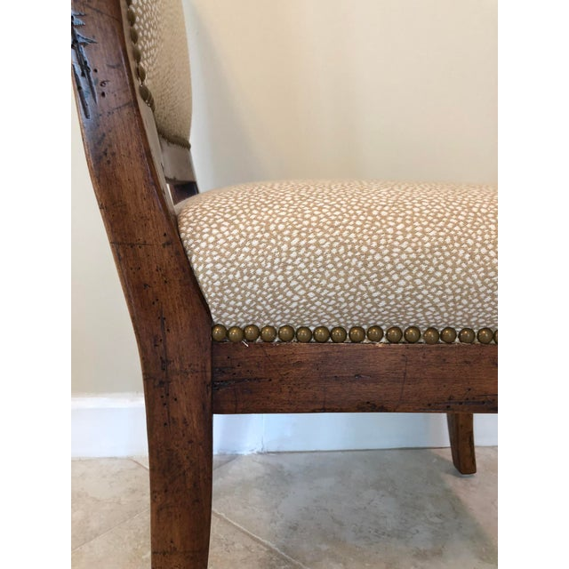 Bausman & Company Bench Made Side Chairs - Set of 4 For Sale - Image 12 of 13