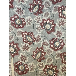 Hodsoll McKenzie Cotswold Floral Fabric 10 1/2 Yards For Sale