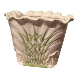 Antique Porcelain Flower Pot