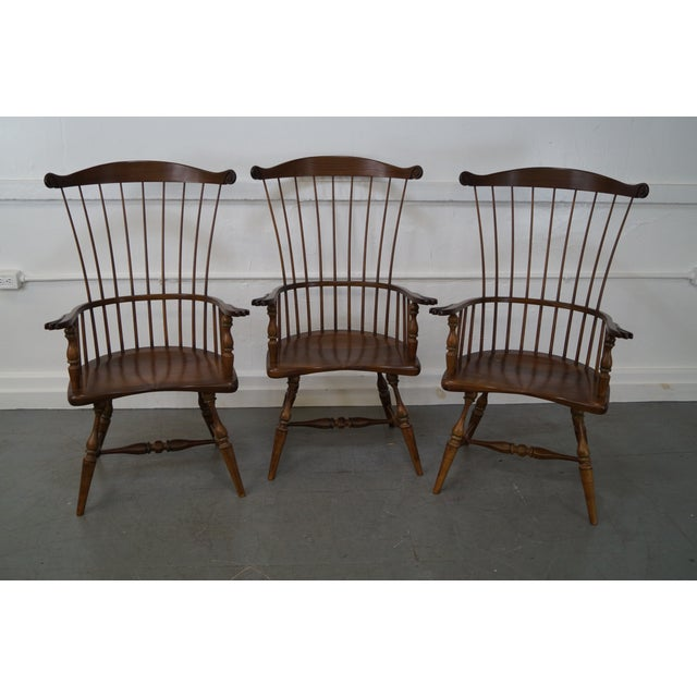 Frederick Duckloe & Bros Armchairs - Set of 6 - Image 2 of 8