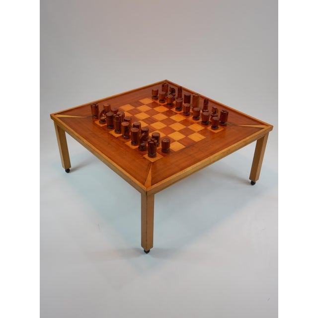Vintage Mid-Century Modern Chess / Game Table by Lane For Sale - Image 10 of 11