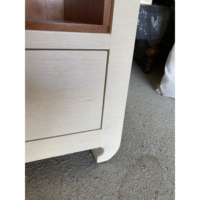 Bungalow 5 Ming White 2 Drawer Nighstand For Sale - Image 9 of 11