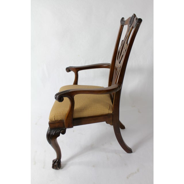 Chippendale Style Dining Chairs - Set of 8 For Sale In Boston - Image 6 of 11