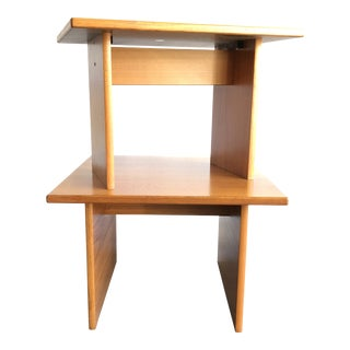 1960s Danish Modern Gangsø Teak Side Tables - a Pair For Sale